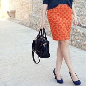 Anthropologie Charlie & Robin Quilted Pencil Skirt